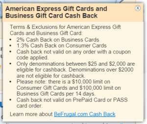 amex business gift cards