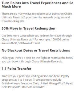 Chase Sapphire Reserve App Landing Page Details Travel