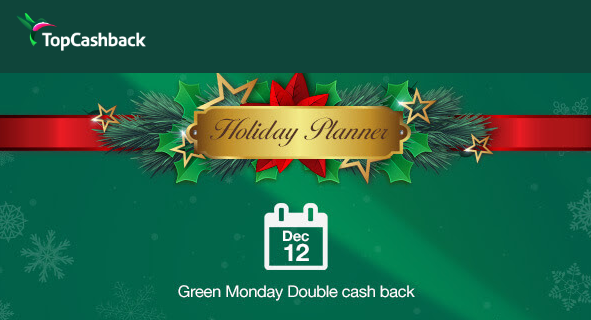top cashback green monday