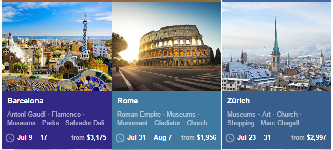 Google Flights Suggest July Rome