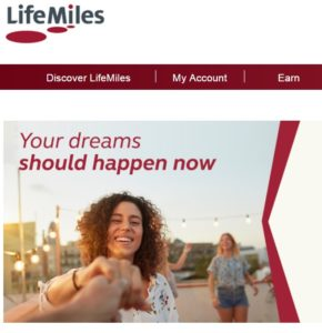 Avianca LifeMiles transfer bonus