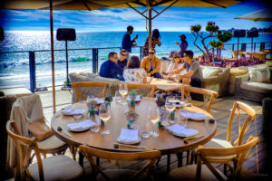 Outdoor Dining at Nobu Malibu