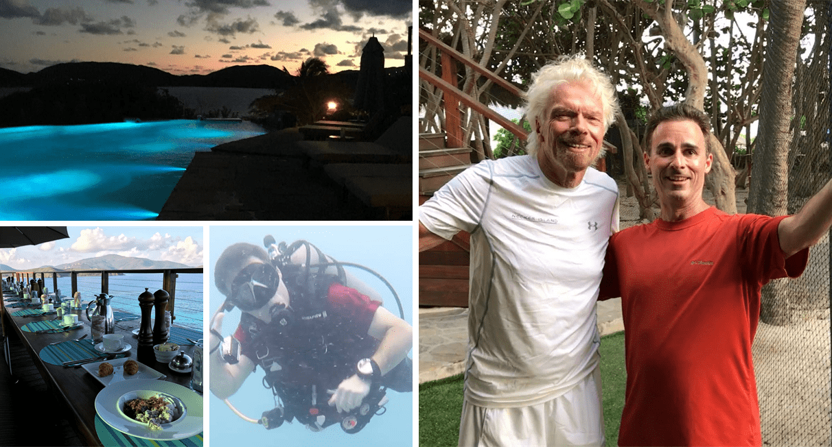 Necker Island no longer bookable with miles.