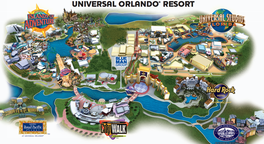 Car Rental Near Universal Studios Orlando