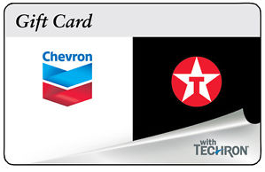 Chevron Texaco Gift Card Sale