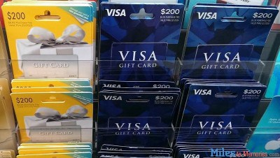 Current Visa and Mastercard Gift Card Deals