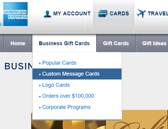 Amex gift card Premium Shipping