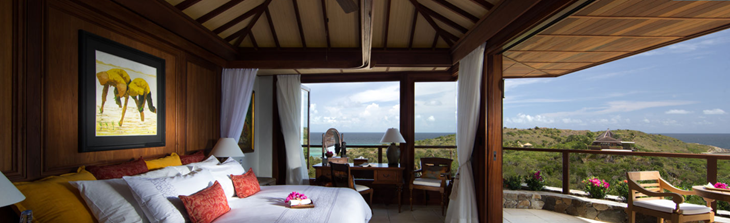 Necker Island Guest Room