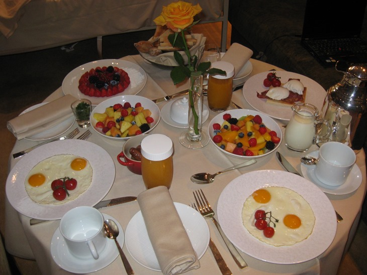 Hyatt Diamond status Park Hyatt Vendome Breakfast
