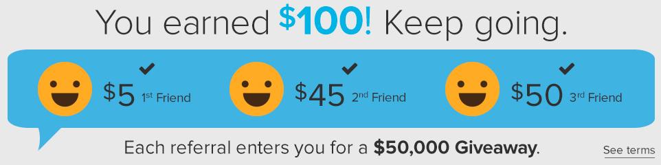 ebates referral bonus
