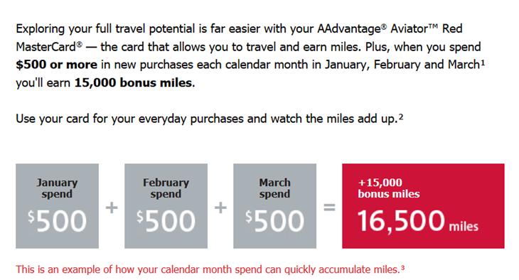 Barclaycard's 15,000 mile anniversary Barclaycard AAdvantage Aviator 15000 mile offer 2