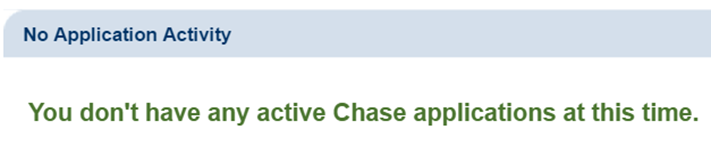 Chase check app status online