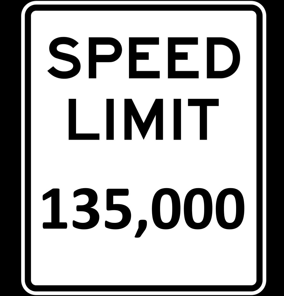 Citi's new speed limit