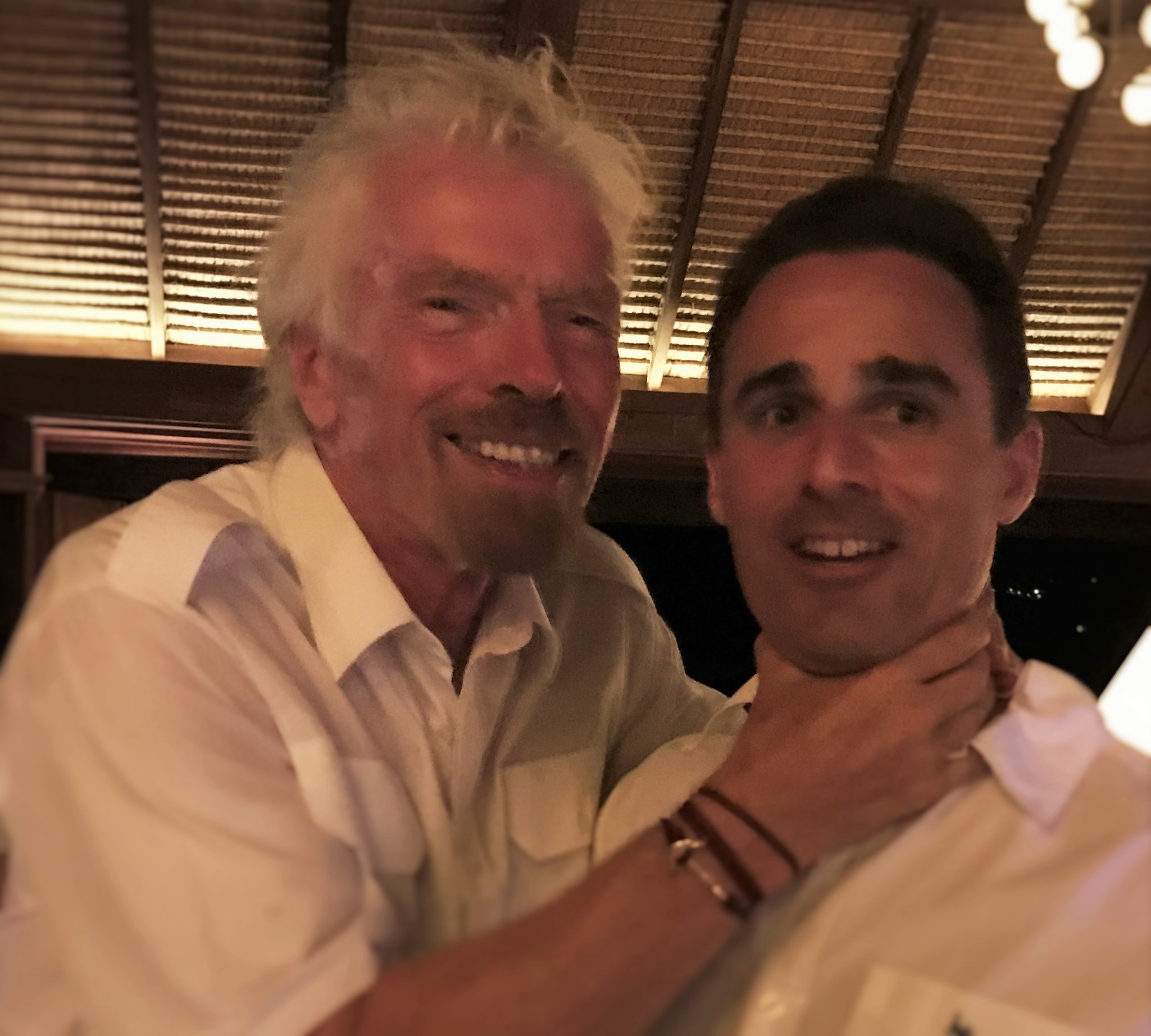 Richard Branson chokes Frequent Miler