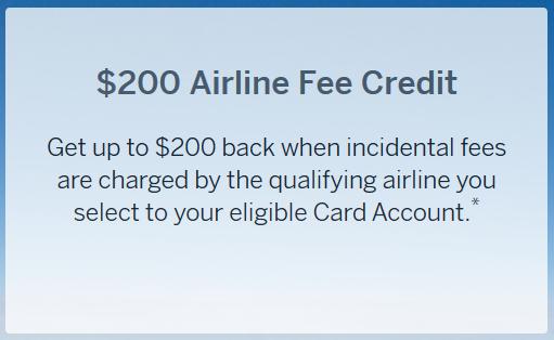 Amex Airline Fee Credits
