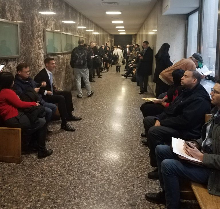 Small Claims Court Waiting