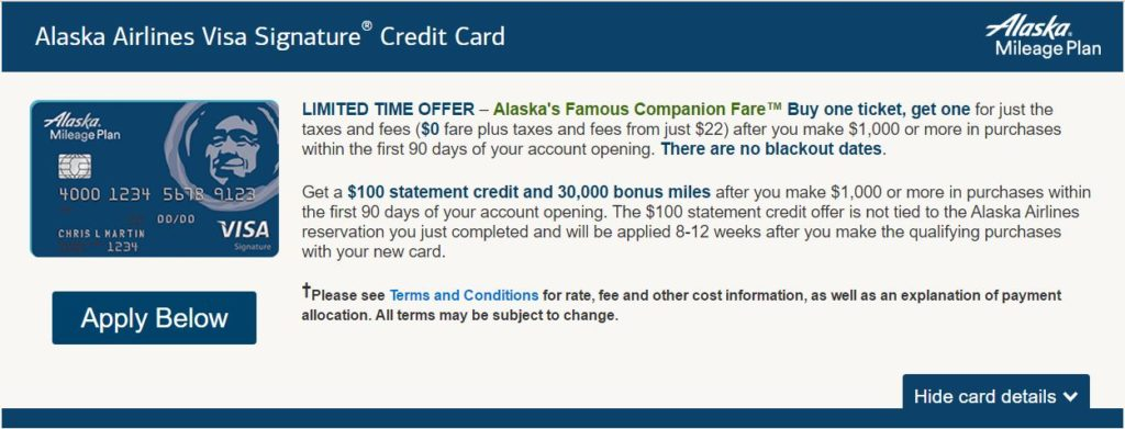 Churning reselling and business credit news you can use alaska zero dollar companion fare colourmoves