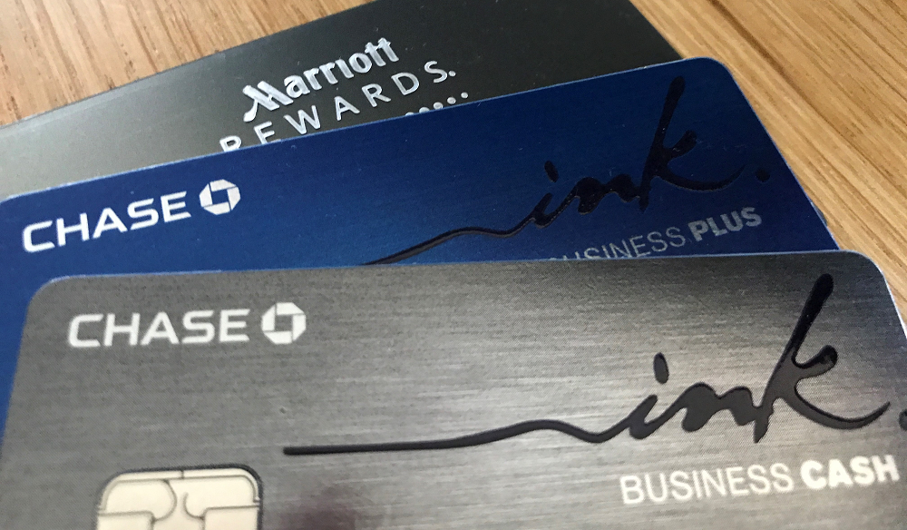 Chase business card applications