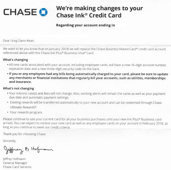 Chase ink plus mastercard changing to ink plus visa their mastercards by buying gift cards from paypal digital gifts or those who were counting on earning extra cash back with mastercard easy savings colourmoves