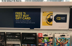 Best Buy Gift Card Rack