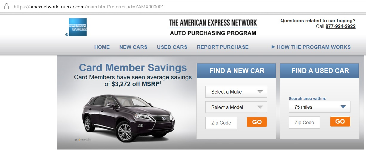 Can you buy a car with a credit card and earn miles?
