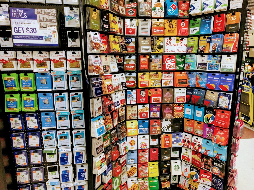 Kroger Gift Card Rack