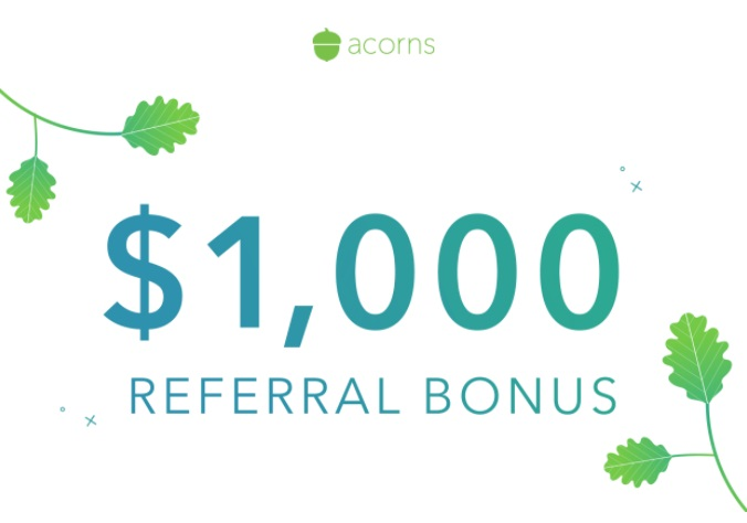 Acorns Referral Bonus