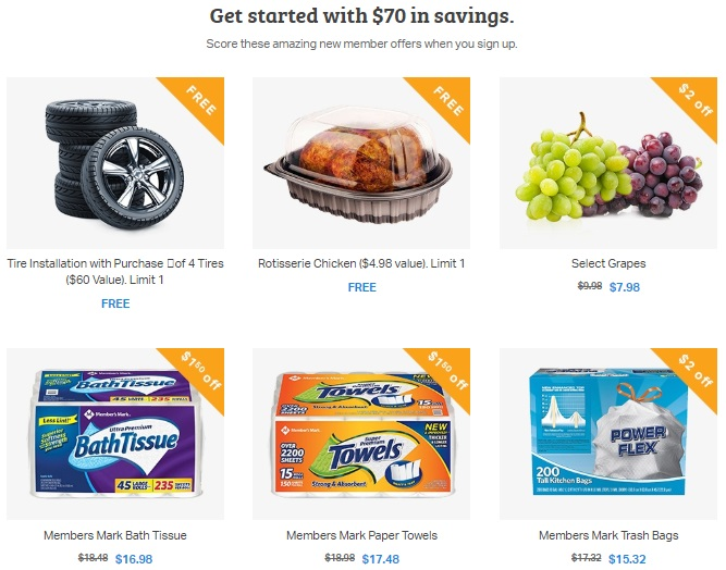 Sam's Club Membership Bonus Coupons