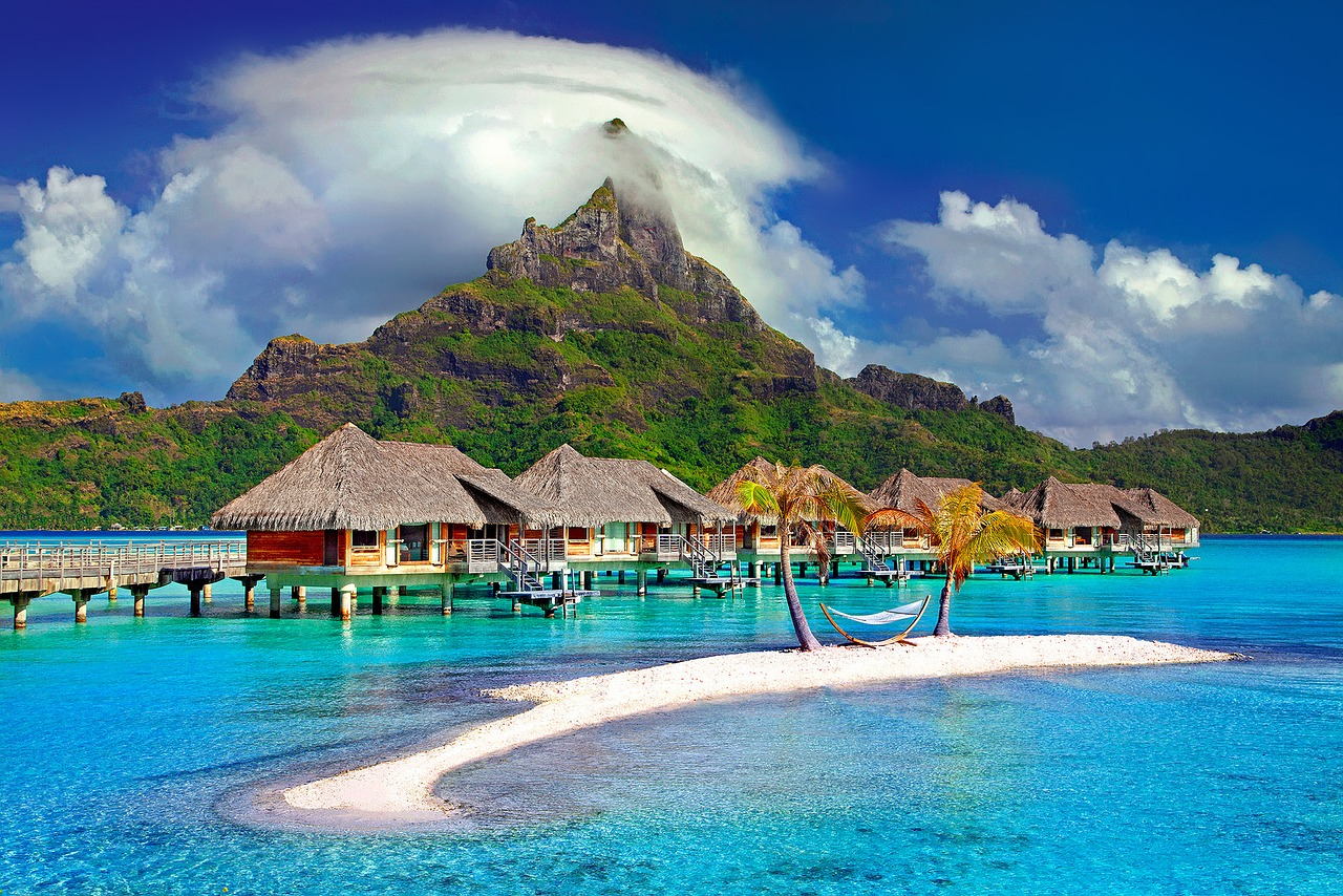 Bora Bora United San Francisco to Tahiti
