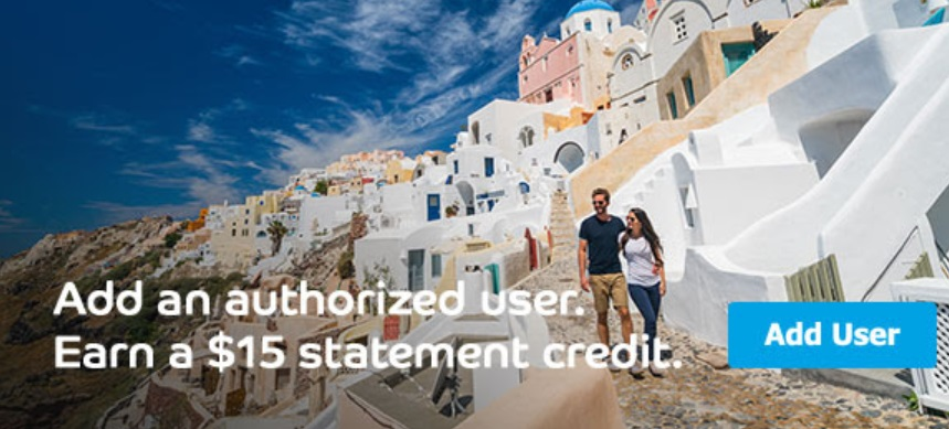 Barclays Authorized User Statement Credit