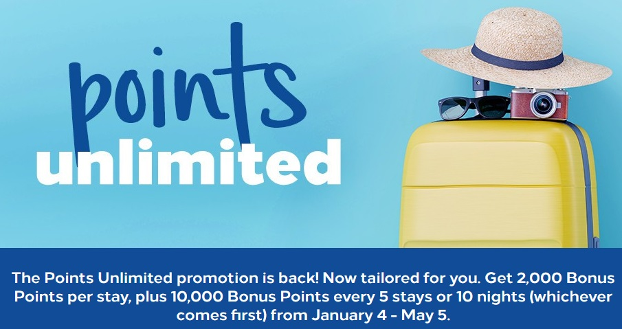 Hilton Points Unlimited Q1 2019