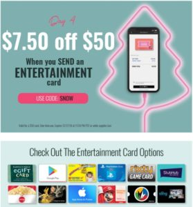 Swych Entertainment Card