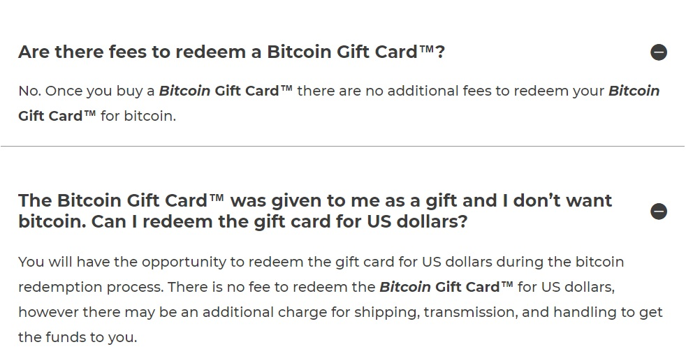 Bitcoin gift cards now available for sale (get $100 for $99)