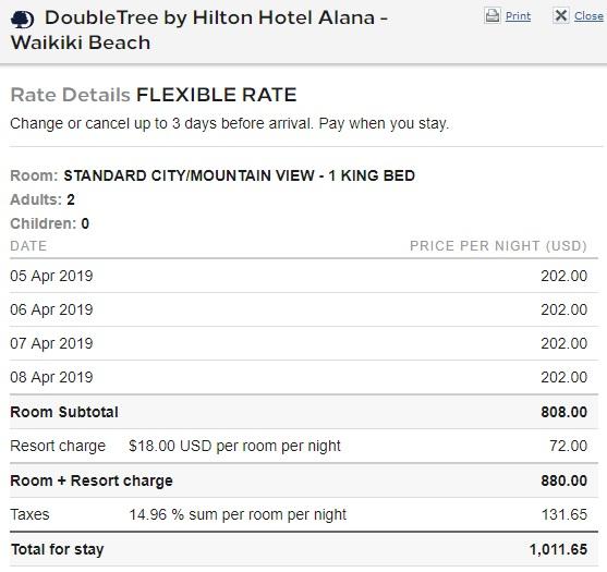 DoubleTree Hotel Alana Waikiki Beach