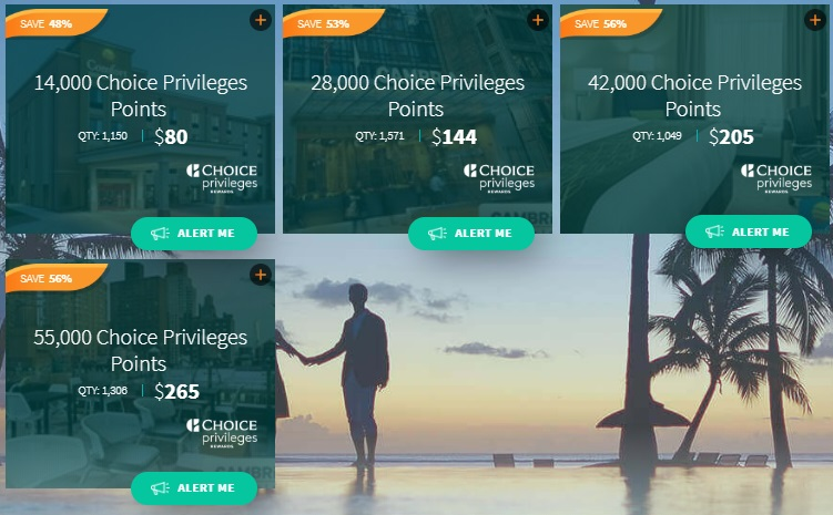 Daily Getaways 2019 Choice Privileges Points