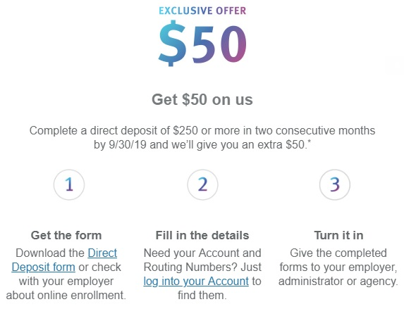 Discover Checking $50 Bonus