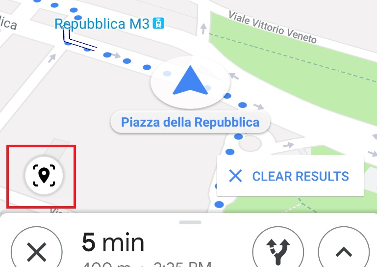 Google Maps AR walking directions: a useful tool, only