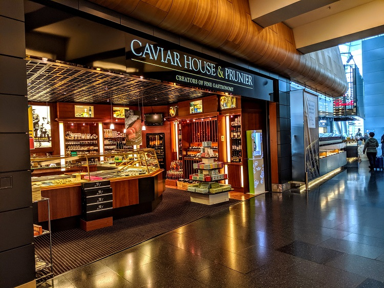 Caviar House & Prunier at Zurich airport