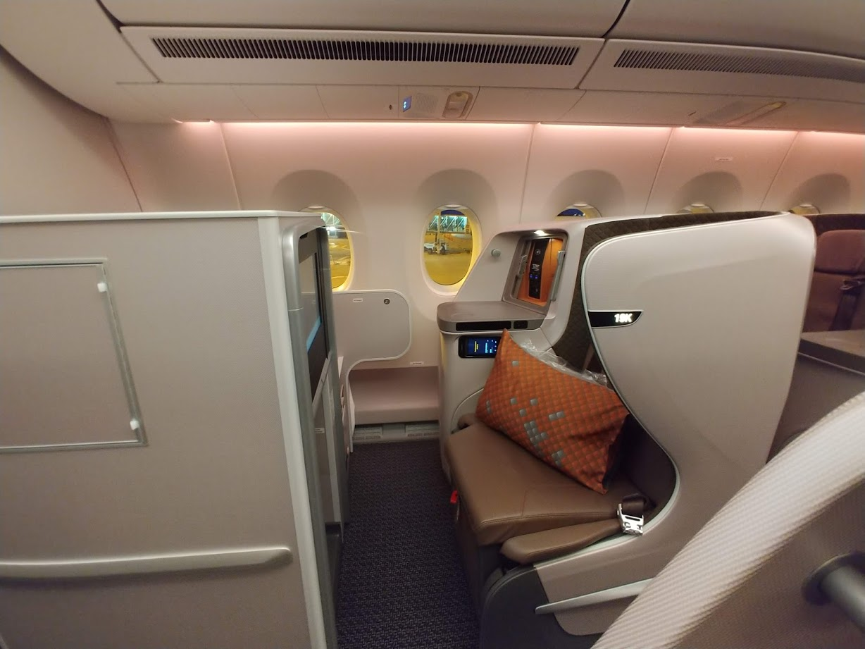 Business class San Francisco to Singapore for 66.5K each way (or Hong Kong for 62.3K)