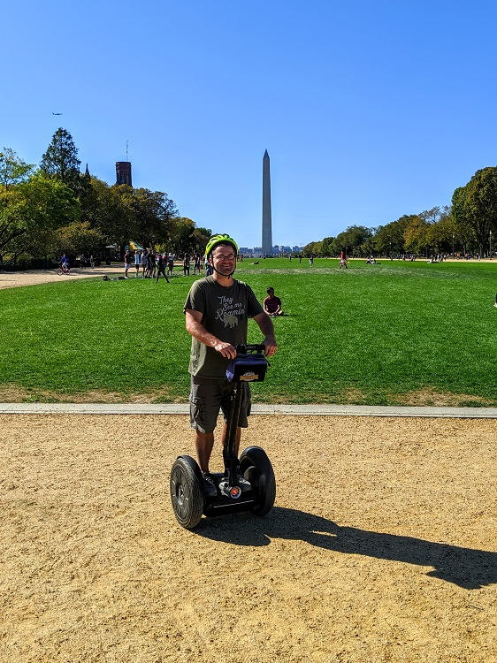 Segway tour of Washington D.C. for less than $22 Don't mind if I do