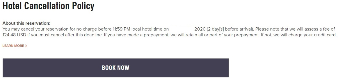 TownePlace Suites Metairie - Cancellation policy