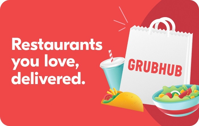 Grubhub Gift Card social distancing credit cards