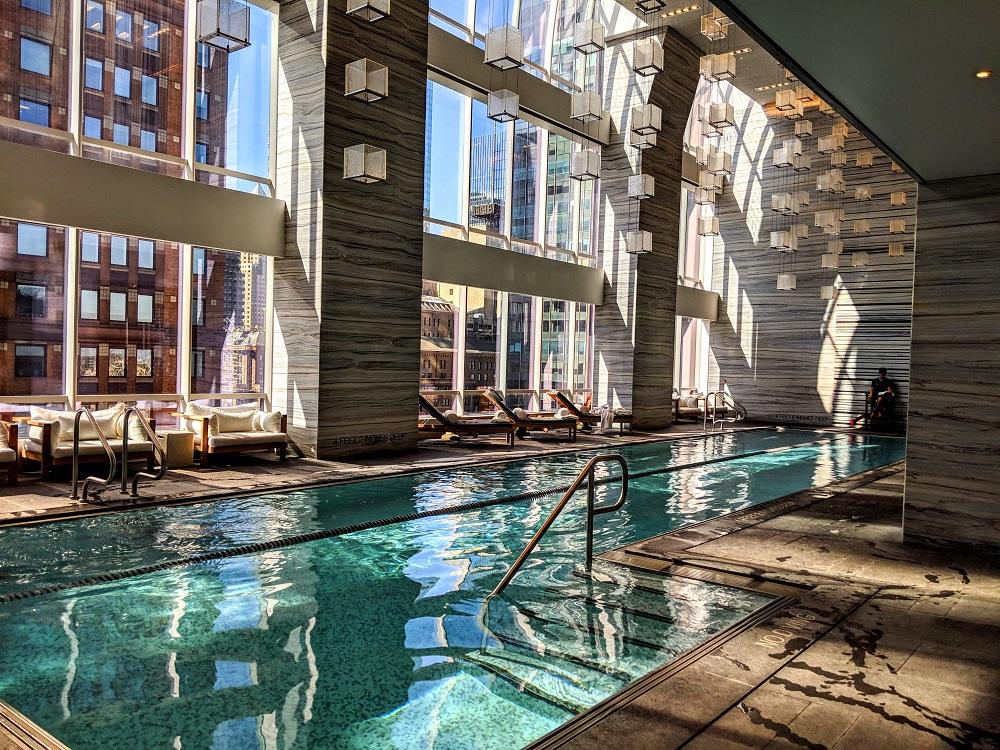 Park Hyatt New York swimming pool