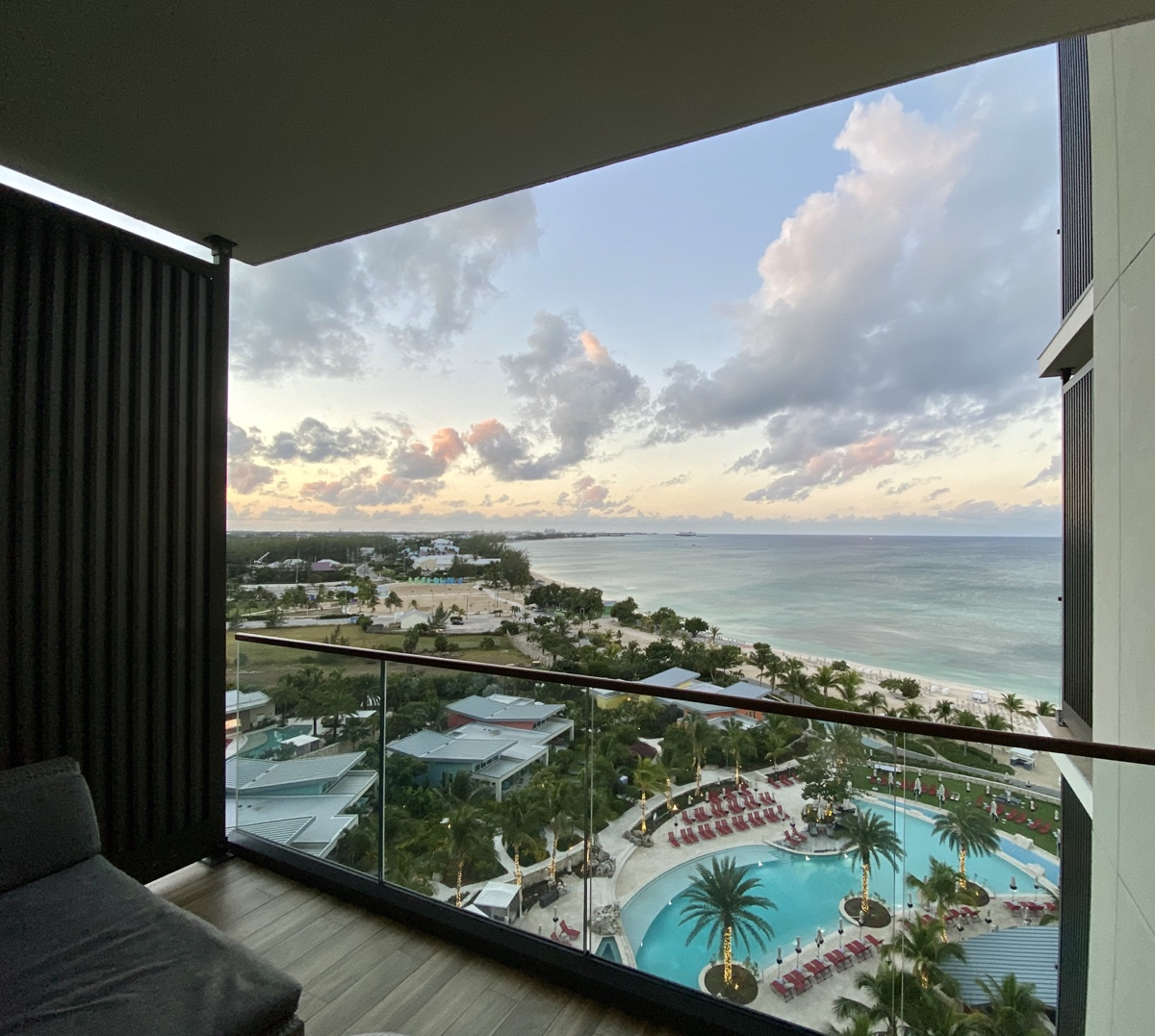 Kimpton Seafire IHG Grand Cayman King Ocean View Balcony and View