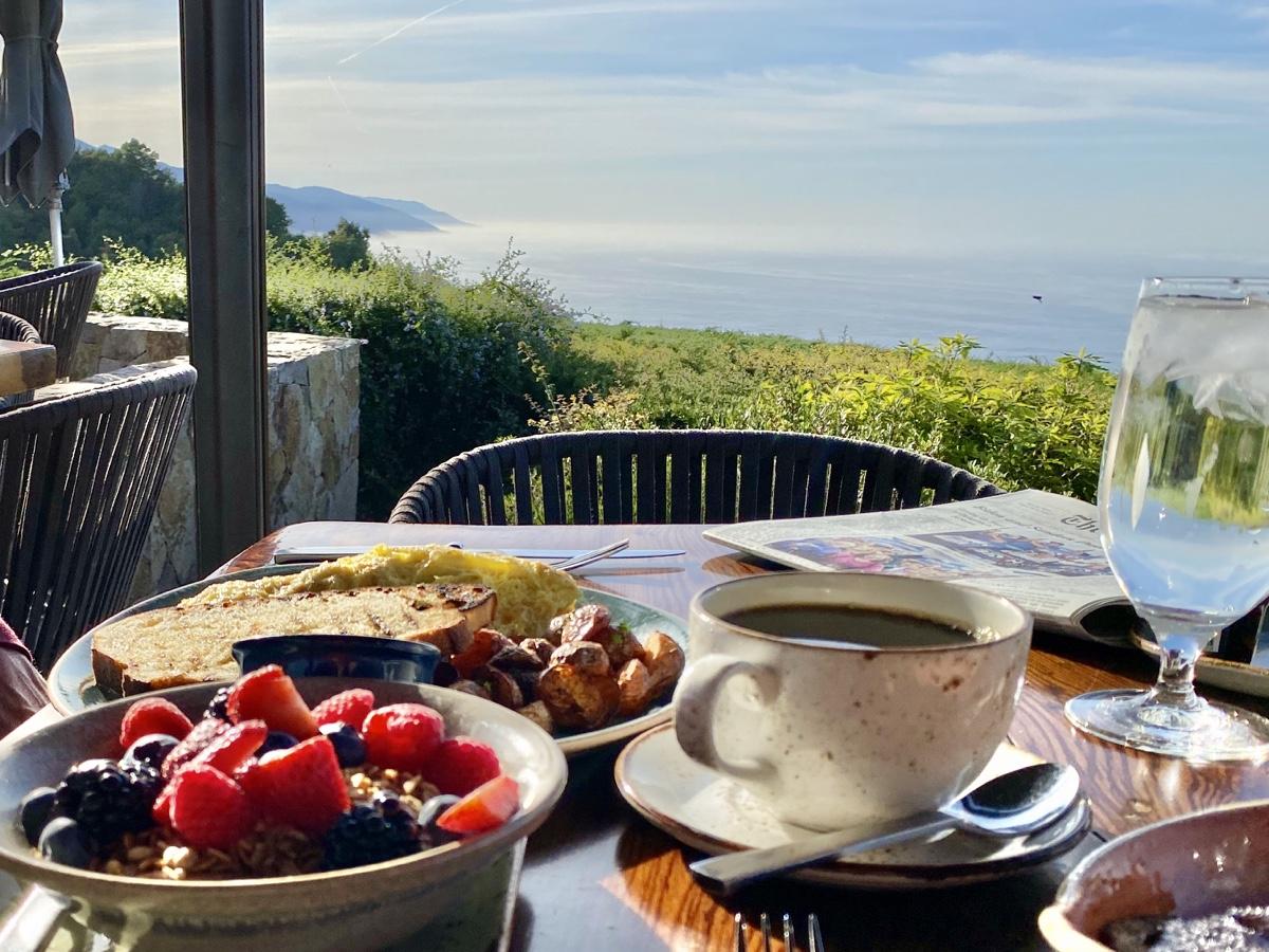 Ventana Big Sur Alila Hyatt California Big Sur House Breakfast