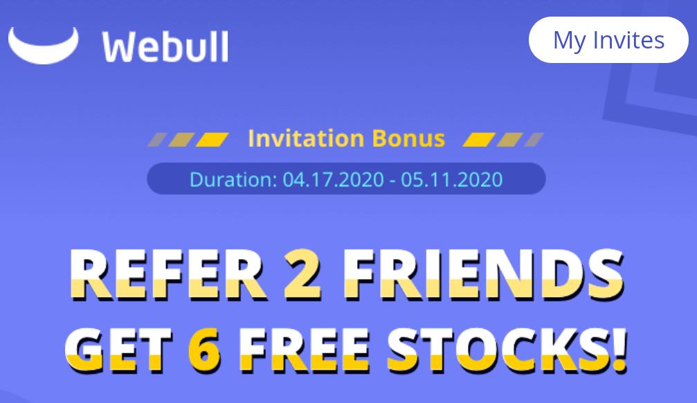 Webull referral offer