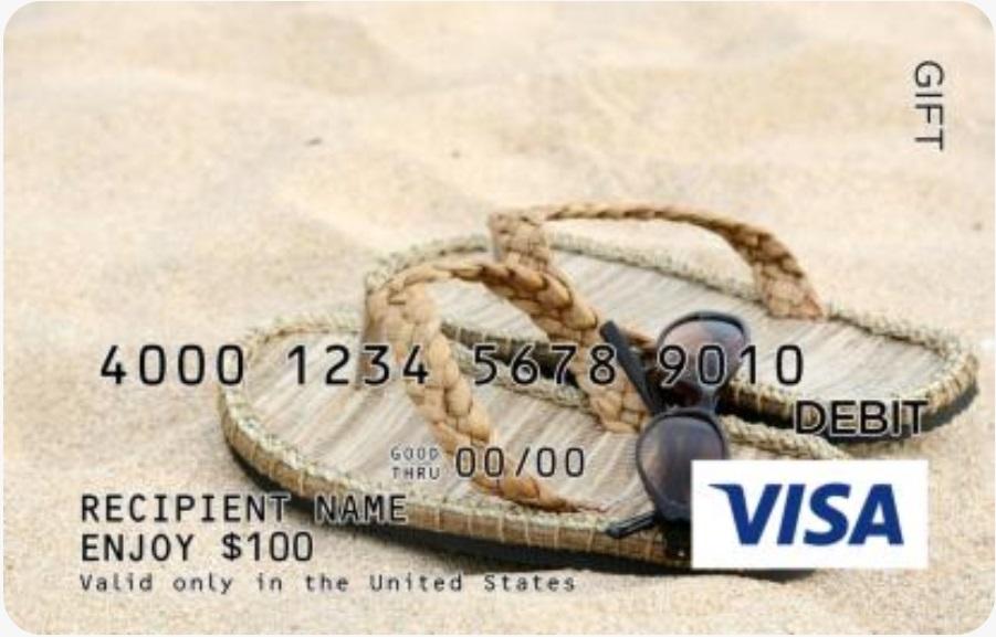 GiftCardMall Visa Gift Card