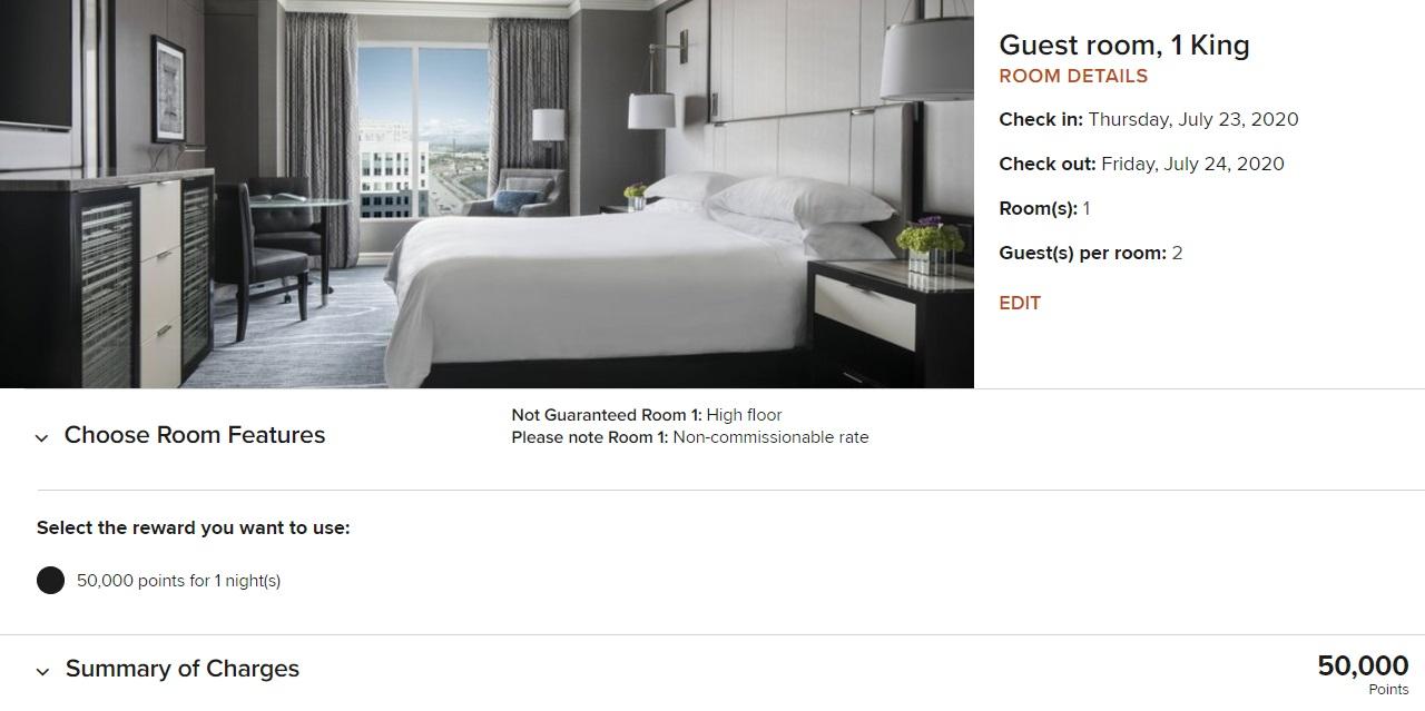 Ritz-Carlton Cleveland - 50k points