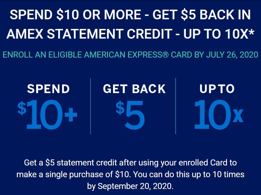 eGifter Shop Small Amex Offer Landing Page