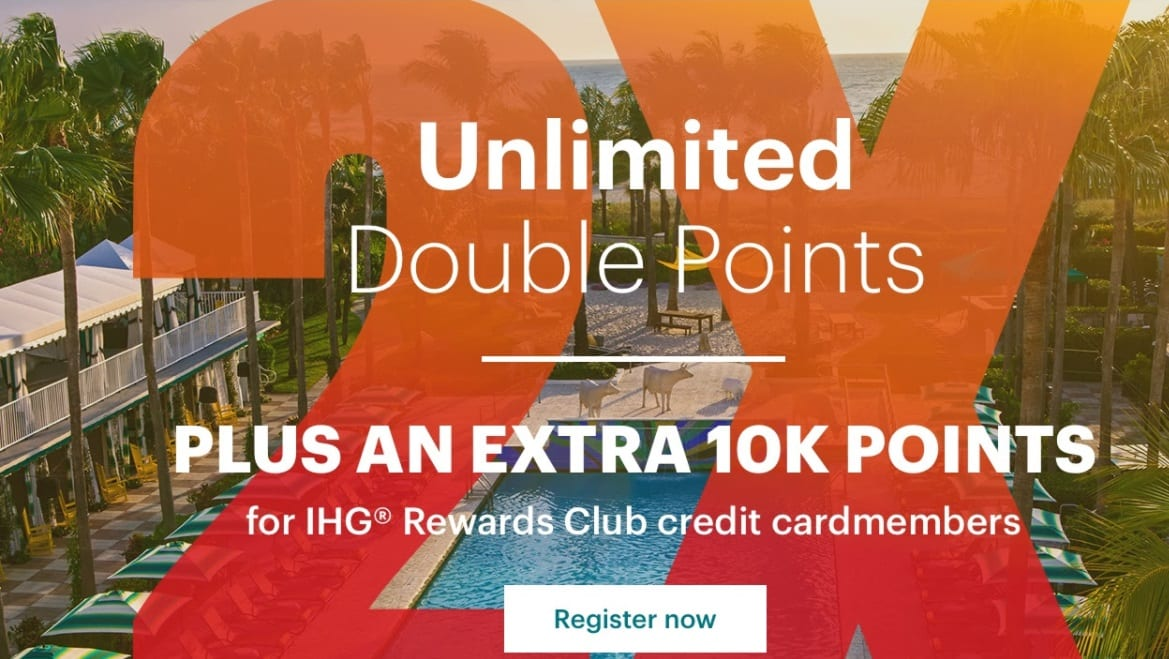 IHG Unlimited Double Points